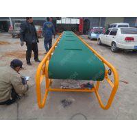 贵州卸粮升降皮带机 电动托辊输送机 值得信赖的皮带机