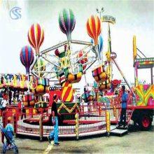 8臂桑巴气球sbqq中型游乐场设备三星厂家打造豪华版儿童游乐设备