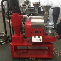 供应上海1.5公斤咖啡豆烘焙机 双温仪表显示无烟咖啡烘焙机 南阳东亿
