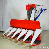 拖拉机带割麦机 高杆牧草收割机 手扶小型大豆割晒机