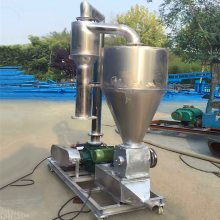 [都用]20吨黄豆气力吸粮机 粉煤灰气力输送机 水泥粉软管吸粮机