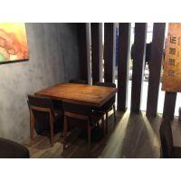 供应桌椅西安料理店单人桌椅