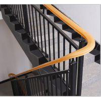 南阳组装楼梯扶手,南阳锌钢靠墙扶手,烤漆楼梯围栏,HCQ235锌合金阳台栏杆
