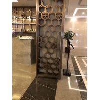 不锈钢屏风,酒店的金属屏风制作工艺和装饰风格