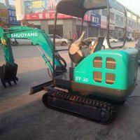硕阳机械 1.8吨履带挖掘机厂家促销