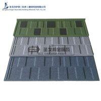 杭州新农村建设铺装彩石瓦 金属瓦屋面多少钱一平方