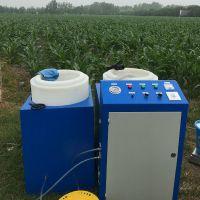 水肥一体化视频 智能施肥灌溉机施肥器泰安霖丰牌LF-500