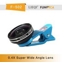 猎奇FUNIPICA品牌F-502超级0.4X广角镜头,卡通系列通用手机镜头