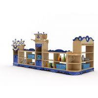 贝尔康 欧式 新款家勒比海盗组合柜 幼儿区域柜 玩具柜