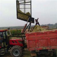 供应新型号带棒全株玉米秸秆收割回收一体机