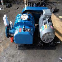 山东风机厂家隆祥牌气体管道煤气加压泵 天然气沼气增压泵 高压气力输送罗茨鼓风机