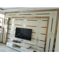 焕彩 沙河厂家定制电视墙 沙发背景墙玻璃拼镜 安装方便 材质环保
