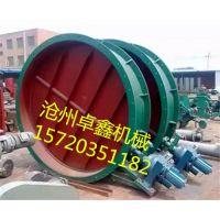 山东卓鑫机械通风蝶阀采用优质耐磨材料焊接而成具有耐磨性好