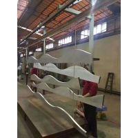 供应天花用弧形铝方通德普龙品牌方管天花吊顶材料