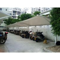 上海嘉定膜结构车棚-膜结构车棚是膜结构设计的灵魂