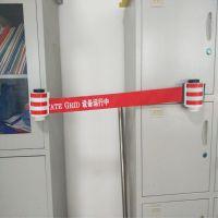 磁吸式安全警示带电力安全工具柜吸附型专用自动伸缩隔离带 双冠电气生产销售
