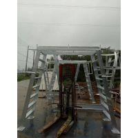 定制铁板登高车 防滑多层梯子 不锈钢爬梯 金属踏步 承重格栅护栏 升降台 电动控制车 铝合金横跨桥