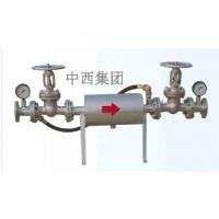 (WLY)中西冲洗式水质过滤器(直径是108MM)库号:M95726
