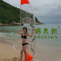 易得瑞 瑞思凯 PC透明船 钓鱼船 婚纱摄影船 皮划艇 透明小船 塑料船