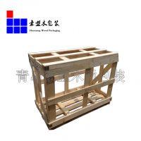 木箱 熏蒸木定做木箱 熏蒸出口黄岛厂家定做可上门测量加固