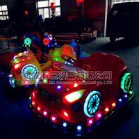 儿童电动玩具车奥迪碰碰车加警灯游乐场电瓶车地摊儿童游乐设备