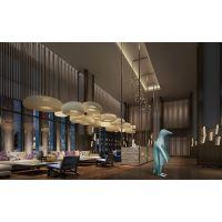 绵阳星级酒店设计,酒店大堂装饰该如何设计才能彰显大气
