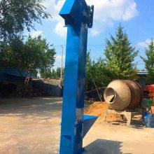 巴彦淖尔盟304不锈钢材质外壳pvc塑料挖斗垂直提升机