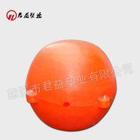 连云港ø40浮球 两半体警示浮球40cm
