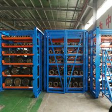 江苏模具货架报价 ZY041602 塑料模具存放架 抽屉式货架