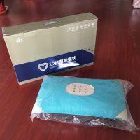 厂家批发 蓝色5D抗菌除螨枕 5D智能健康枕 夏季养生礼品