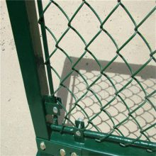 操场活络网护栏 镀锌斜方网 球场护栏网