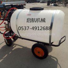 工地除尘喷雾器 农用风送式汽油喷药车 汽油自走式打药喷雾机