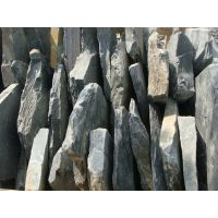甘肃乱型青石板乱型碎拼板岩 黑色板岩乱型 乱型石板超低价促销