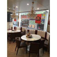 东莞茶餐厅桌椅订购哪里更优惠 简约现代