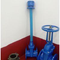 阀门厂供应WUV型给水地埋(伸缩杆)弹性座封闸阀阀组