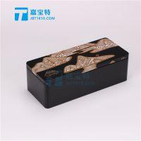 贵州绿茶包装长方铁盒花生油核桃油金属马口铁罐姿源黄菊金属盒定做生产厂家