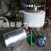 五谷杂粮面粉电动石磨机 多功能全自动小麦面粉机 半自动石磨机 骏力热销
