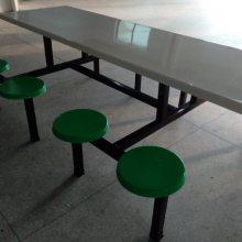 赣州学校连体餐桌批发_工厂直销饭堂餐桌价格