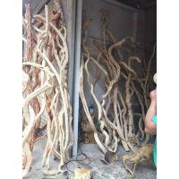 仿真枯树干 石榴木 黄牛木厂家直销 艺术树杆定制