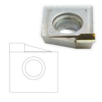 钻石刀片 DCMW11T310 刀片 内R铣刀 组合刀 亚克力抛光刀 有机玻璃抛光刀 液晶面板抛光