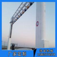 江苏厂家供应电动升降架 道路龙门架 自动液压升降式限高杆限高架