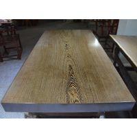 鸡翅木原木大板茶台餐桌 实木大板办公电脑桌画案现货187长91宽