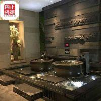 陶瓷大水缸厂家 极乐汤泡澡大缸