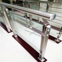 金裕 商场护栏立柱 不锈钢 阳台栏杆GAB6 厂家直销 钢化玻璃楼梯扶手