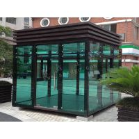 现货供应欧式玻璃岗亭 售货亭 移动玻璃亭 优惠多多