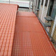 吉林长春树脂瓦厂家直销 楼顶隔热琉璃瓦 仿古环保瓦 塑料瓦