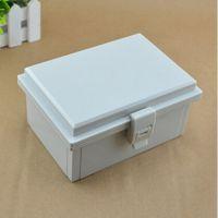 优卡125*175*85防水盒接线盒端子盒带扣密封盒工控布线盒配电盒