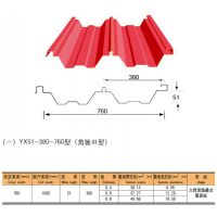 供应彩钢板YX51-380-760