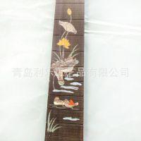 定做指板镶嵌   专业木质工艺品配件   青岛实力厂家