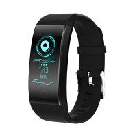 QW18彩屏智能 手环防水心率血压蓝牙运动计步器健康穿戴礼品厂家
